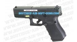 Glock 17 - Pistolet airsoft à gaz blowblack avec culasse mobile