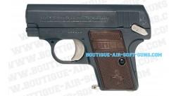 Colt S-25 noir crosse marron 6mm spring