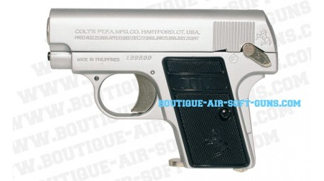 Colt 1908 '25' chromé