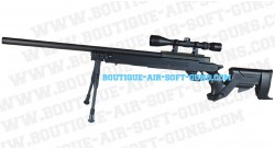 Mauser sniper spring avec lunette et bipied