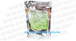 billes bio airsoft 2000 billes blanches 0.23g  kyou