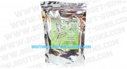 Billes bio airsoft 2000 billes blanches 0.25g kyou