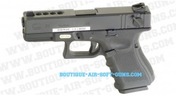 Glock 23 tactical gaz airsoft full auto
