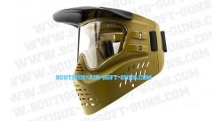 masque de protection airsoft gxg x-vsn en vert olive avec mousse