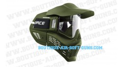 Masque de protection airsoft noir v force armor anti buée