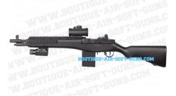 M14 ASG Socom AEG avec viseur et lampe