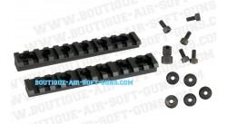 Rails UTG 22 mm picatinny mount pour M4, M15 et M16