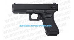 Glock 18 C - Réplique airsoft à gaz blowblack fullauto