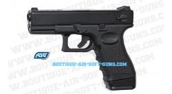 Glock 23 F - Pistolet airsoft à gaz blowblack culasse mobile