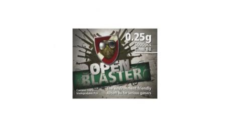 Billes Open Blaster 100% biodégradable - 0.25g