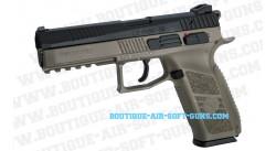 Réplique pistolet CZ P09 GBB FDE