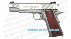 Colt 1911 Rail Gun Co2 Chrome