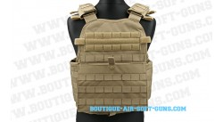 Gilet modulaire CONDOR Operateur Carrier Tan