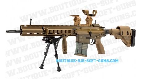 Replique sniper GBBR HK-G28 full metal 1.6J semi-auto blowback VFC - cal 6mm