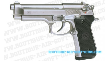 Taurus PT-92 chromé full metal