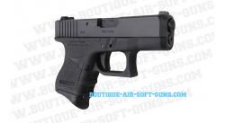 Réplique pistolet airsoft E26C Gen 3 noir calibre 6mm bbs
