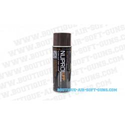 Bombe de peinture spray Nuprol UFP couleur marron terre