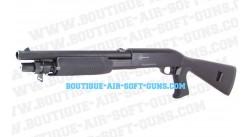 Fusil à pompe Spring avec douilles éjectable carabine crosse pleine