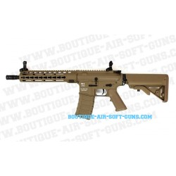 Réplique airsoft fusil CA4 M4 Dark Earth Keymod AEG 1.1J