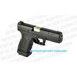 Réplique pistolet WE GP1799 T5 noir argent GBB - 0.9J - cal 6mm bbs
