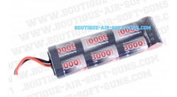 Batterie 3000 mAh 8.4Volts (type large)