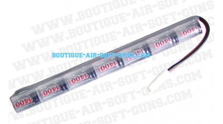 Batterie bâton 8.4 V / 1400 mAh - type mini