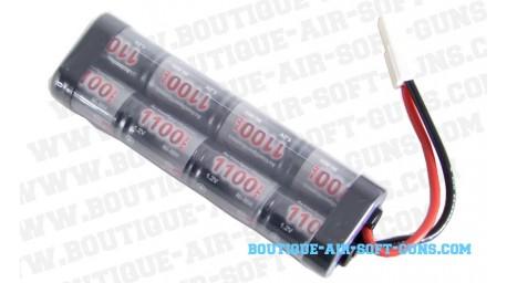 Batterie 9.6 V / 1100 mAh - type mini