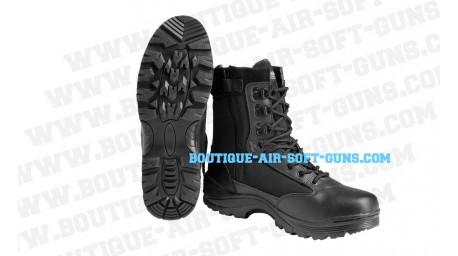 Bottes de sécurité Noires - Chaussures avec zip - Taille 44