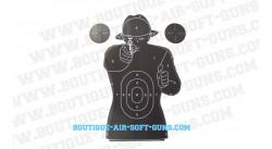 Cible Police - 50x70 cm
