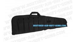 Housse souple 120 cm de transport noire pour arme longue