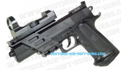 Colt Combat commander pistolet à billes tout équipé