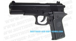 Colt Double Eagle noir - pistolet airsoft 6 mm