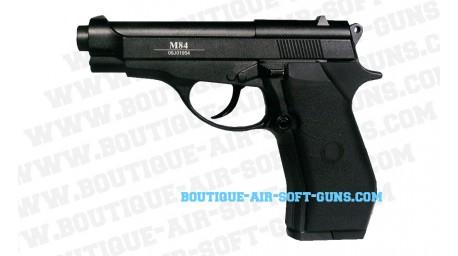 M84 - pistolet full métal CO2 - culasse fixe