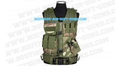 Gilet tactique - Camo CCE - droitier +holster