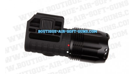 Lampe à LED rotative flashlight 3W waterproof