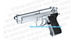 Beretta 92 FS Chrome