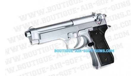 Beretta 92 FS Chrome