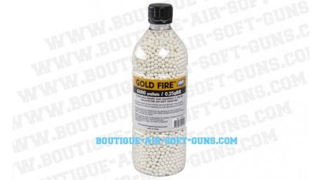 6000 billes 0.25 GoldFire
