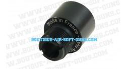 Adaptateur silencieux 14 mm négatif (antihoraire) pour Socom Marui, ASG, STI KJW