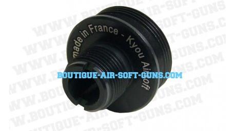Adaptateur silencieux 14 mm négatif (antihoraire) pour AW 308