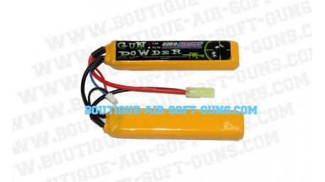 Batterie LiPo - 7.4V - 2200 mAh