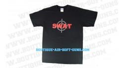 T-shirt noir SWAT - Taille L