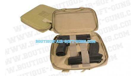 Housse de transport pour 2 pistolet - coloris Tan