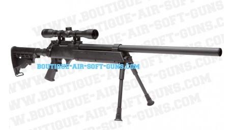 Urban sniper avec lunette et bipied replique airsoft
