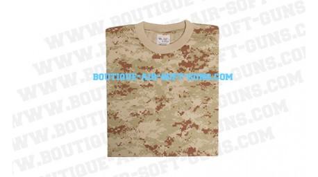 T-shirt 3d camo desert en xl