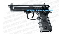 Réplique airsoft Beretta M92FS noire pour débutant