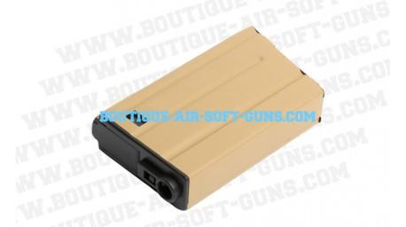 Chargeur low cap tan G&G pour replique m15 et m16