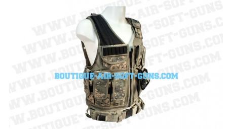 Gilet tactical veste camo americain utg
