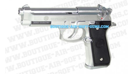 Taurus PT 92 nickel gaz blowback- 407 fps