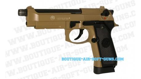 Taurus PT 92 co2 blow back full metal TAN - 424 fps